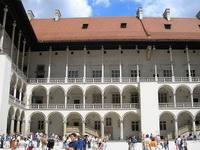 Аркада королевского замка на Вавеле (Краков)