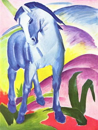 Синий конь (Ф. Марк)